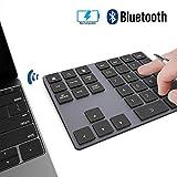 JOYEKY 34 键无线数字板铝制无线记帐数字键盘适用于 iMac、MacBook Air、MacBook Pro、MacBook 和 Mac Mini 34 keys Black