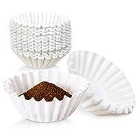 咖啡过滤器 - White Bunn 20016 *器式冲泡器,一次性纸篮咖啡过滤器,适用于家庭和商业用途 白色 12 cups FAF300571