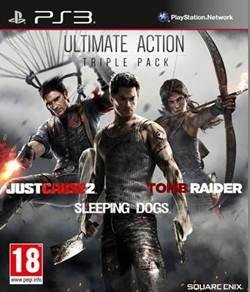 Ultimate Action Pack: Tomb Raider, Sleeping Dogs and Just Cause 2