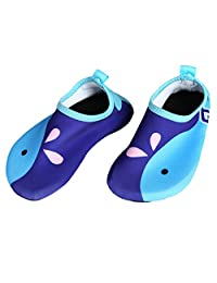 IH-TECH 儿童水鞋幼儿游泳鞋速干防滑赤脚水袜海滩泳池水袜