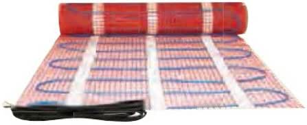 King Electric FCM2-25 FCM In-Floor Heating Mat 240V; 300W; 25 Sq. Ft. Red