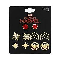 Captain Marvel 耳环套装 - 五件套