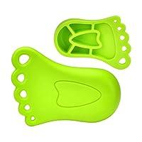 Pearhead 婴儿安全防护系列脚丫门档 果绿色