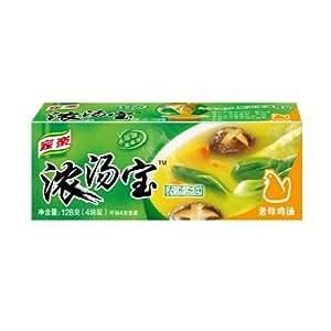 家乐浓汤宝老母鸡汤口味 128g(4块装)
