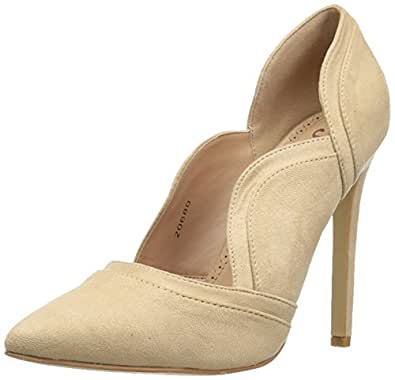 brinley CO 女式 adri 高跟鞋 裸色 10 Regular US