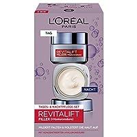 L'Oréal Paris 巴黎歐萊雅 復顏導入系列(Revitalift Filler) [HA] 日夜面霜套裝
