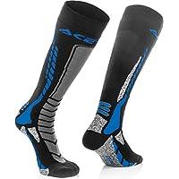 Acerbis 短袜 MX Pro 黑色/蓝色,黑色