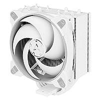 ARCTIC Freezer 34 Esports Duo - 塔 CPU 空气冷却器 带 BioniX P 系列机箱风扇 推拉 120 毫米 PWM 处理器风扇 适用于英特尔和AMD插槽 适用于 CPU 至 210 W TDP - 灰色/白色