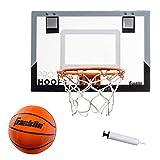 Franklin Sports 室内迷你篮球框 - Slam Dunk 认证 - 防碎 - 含配件