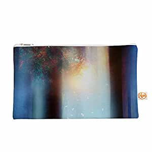 "KESS InHouse Viviana Gonzalez ""希望蓝色 Part II""水红色 Everything 袋,31.75 厘米 x 21.59 厘米 (VG1019AEP02)"