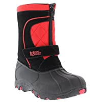 Totes Bradley Snow Boots For Boys | Waterproof Suede Upper, Rubber Grip sole Winter Boots For Kids