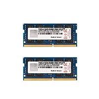 V-Color 32GB (2 x 16GB) ECC SO-DIMM DDR4 2666MHz (PC4-21300) 2Rx8 CL19 1.2V (TES416G26D819K-VKC)