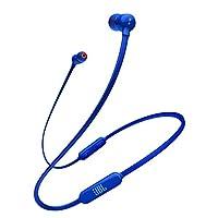 JBL TUNE110BT 蓝牙耳机 无线/麦克线控/带磁吸 蓝色 JBLT110BTBLUJN