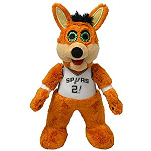 Bleacher Creatures San Antonio Spurs Coyote 10 英寸吉祥物毛绒公仔