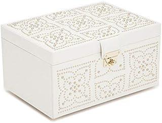 WOLF Marrakesh 中号珠宝盒,均码,奶油色