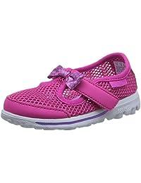 Skechers 斯凯奇 GO WALK系列 女童 超轻玛丽珍休闲鞋 664050