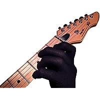 吉他手套,低音手套,音乐家练习手套 小号 - 一- 适合任何手DG-S-BL 小号