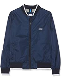 BOSS 男童 Blouson 夹克 蓝色 (Bleu Cargo 849) 10 Years (Manufacturer size: 10A)