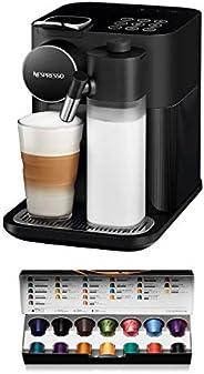 De'Longhi 德龙Nespresso EN650 Gran Lattissima 咖啡机 带胶囊系统 黑色 EN