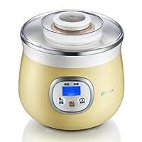 Bear小熊 酸奶机SNJ-530(微电脑精控,酸奶米酒两用,白瓷内胆,360度立体加温)(亚马逊自营商品, 由供应商配送)