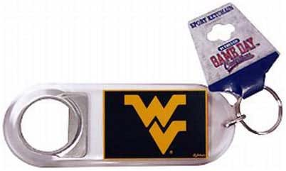 Game Day Outfitters NCAA 西弗吉尼亚登山者钥匙扣 Lucite 开瓶器,均码,多色