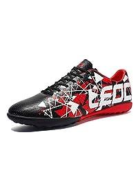 D-BuLun 丹步伦 新款碎钉足球鞋 儿童成人足球训练鞋 防滑耐磨人造草地碎钉鞋 专业训练鞋 CB-8848