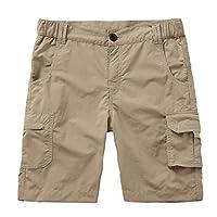 Asfixiado 男式户外任何时间速干可转换轻质远足钓鱼拉链外出工装短裤 #6062