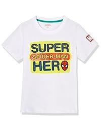 Disney 迪士尼童装 男童 针织短袖T恤 KSP8M1KTKB2704WW
