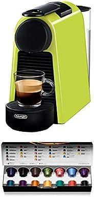 De'Longhi 德龙 Nespresso Essenza Mini EN 85L胶囊咖啡机 欢迎套装中包含不同口味的胶囊 19 bar泵压 节省空间的