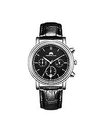 Christopher Bailey 英国品牌 石英男士手表 时尚商务三眼多功能 C172066B