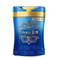 美赞臣(Mead Johnson) 蓝臻系列 幼儿配方奶粉900克罐装 3段(12-36月龄)富含乳铁蛋白 (荷兰原装进口)