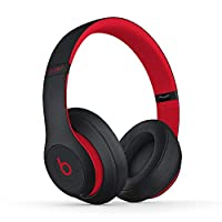 Beats Studio3 无线耳机 The Beats Decade Collection - 红色蓝牙耳机 黑色