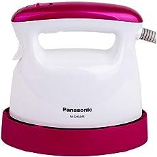 Panasonic 松下 电熨斗便携式蒸汽式挂烫平烫NI-GHA045(亚马逊自营商品, 由供应商配送)