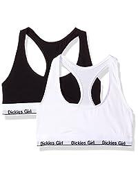 Dickies Girl 女士工字背文胸 2 件装