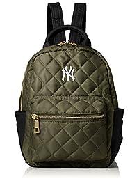 [MAJERRYG棒球]双肩包 绗缝双肩包 小型背包 双肩包 包包 包 包 包 包 包 YANKiss 女士 女士 绗缝 怀旧 上学 成人 学生 旅行 YK-MBBK124
