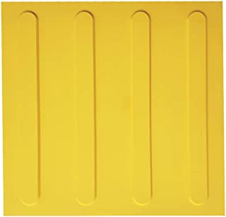 SAFERUN塞弗朗 点字瓷砖 线条(诱导/进入) 10件套 300x300mm 座椅厚度约2mm 突起部分5.1mm PVC 线状突起 10件套