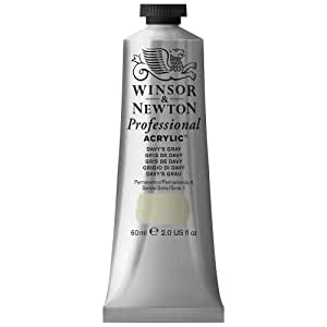 Winsor & Newton 60ml 专业腈纶彩色管 - 复古金 Davys Grey