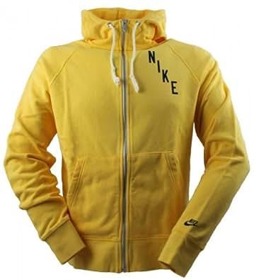 Nike Sportswear RU AW77 January 77 Zippable Hooded Sweatshirt varsity maize/midnight navy Size:L