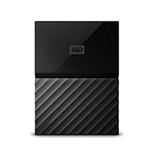 Wd 西部数据 My Passport 2.5英寸 移动硬盘 4TB 黑色 WDBYFT0040BBK 配有密码保护功能和自动备份软件