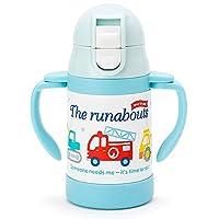 The runabouts 儿童不锈钢吸管水杯