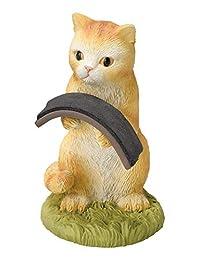 饰品支架 猫 茶拖 手表支架 收纳 可爱 猫 世纪工艺