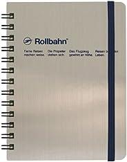 (日本制造)Roruban 口袋备忘录 112 × 138 毫米(银色)