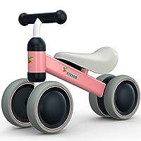 Avenor Baby 平衡自行车 - 婴儿自行车适用 6-24 个月,坚固的平衡自行车适合 1 岁,非常适合*辆自行车或生日礼物,适合 1 岁男孩女孩的*骑行玩具