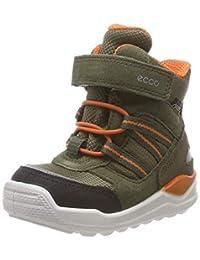 ECCO 中性款儿童都市迷你经典靴子