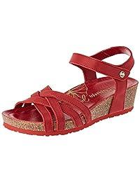 Panama Jack 女式 Chia Nacar 踝带凉鞋