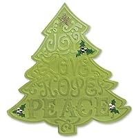 Sizzix Bigz Die - Eileen Hull 创作心形花层 圣诞树 #2 657370