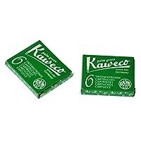 Kaweco Accessory - 配件钢笔、宝珠笔专用墨囊(绿色)