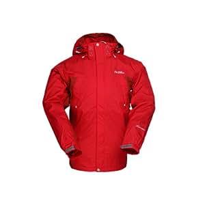 MOBI GARDEN 牧高笛 户外徒步系列 男式 艾尔斯单层冲锋衣 NMA1218001-C27 暖红色 170/88A