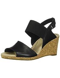 Clarks Lafley Lily 女式坡跟凉鞋