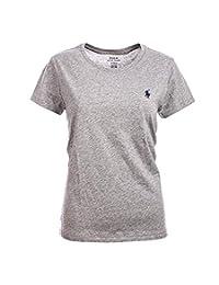 Polo Ralph Lauren 女士圆领小马标志 T 恤